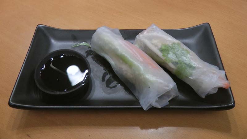 Finished Spring Rolls