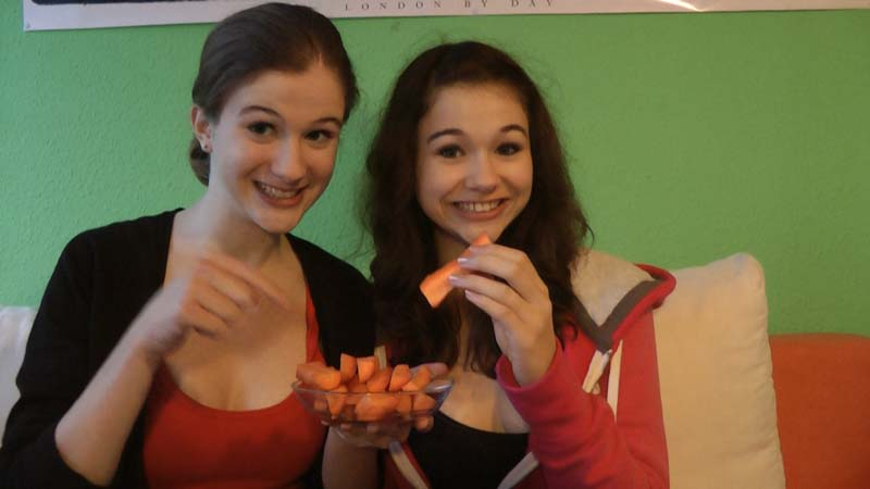 Healty and low-calorie: carrots!