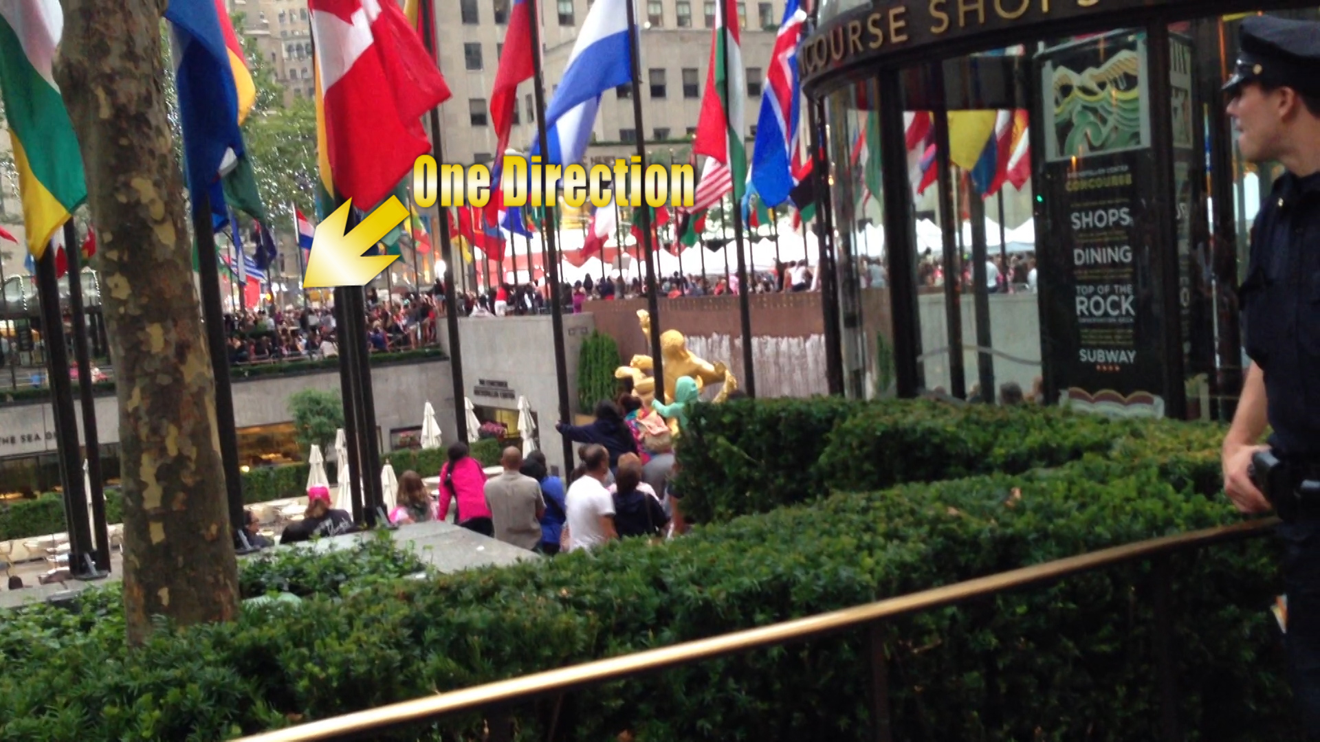 #60: One Direction at Rockefeller Plaza, NYC